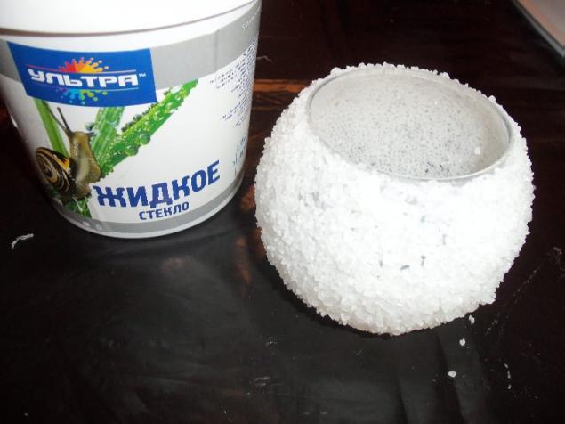 Соляная изморозь: подсвечник