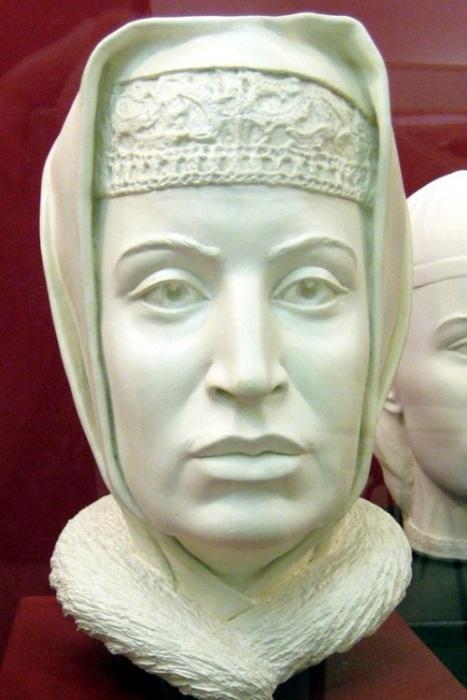 Софья Палеолог. Реконструкция по черепу. | Фото: diletant.media.