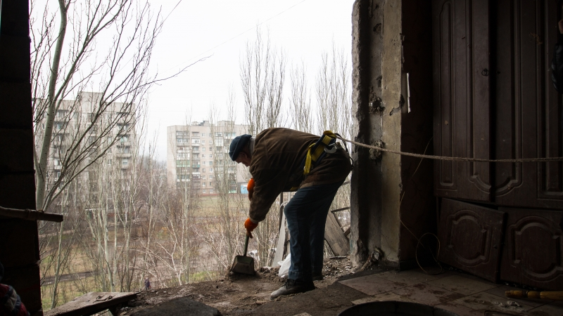 ВСУ обстреляли детский сад в Горловке из артиллерии 152-го калибра