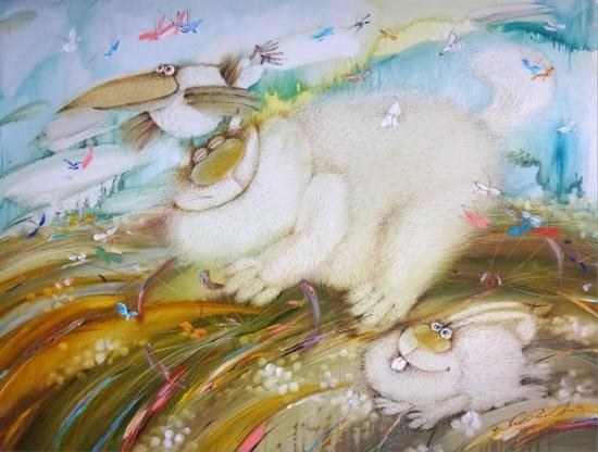 художник Валерий Хлебников картины – 15