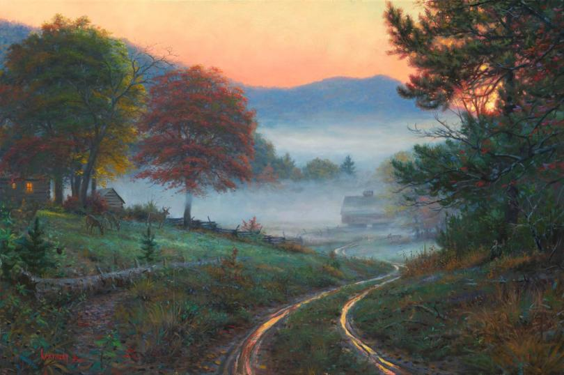 Художник Марк Китли (Mark Keathley)