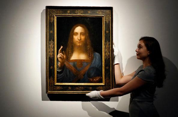 Самая дорогая в мире картина исчезла из филиала Лувра