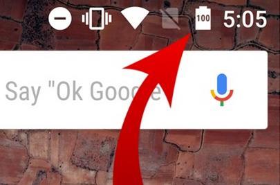 Как включить процент зарядки батареи в процентах на Android