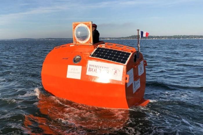 История француза, который пересек Атлантический океан в бочке