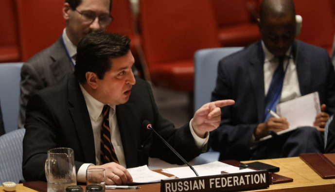 Кремль поддержал выступление Сафронкова на заседании Совбеза ООН