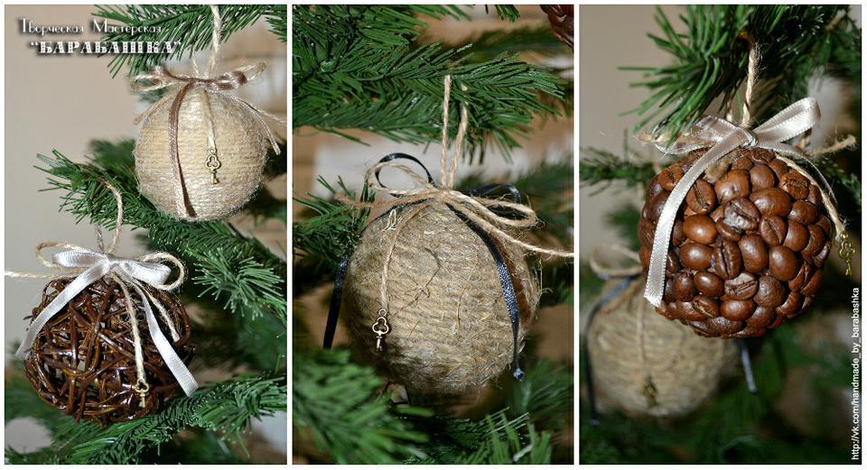 Новогодние украшения своими руками на елку 18
