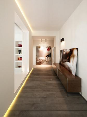 коридор в стиле минимализм