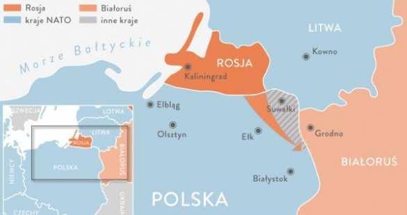 НАТО укрепляет Сувалкский коридор
