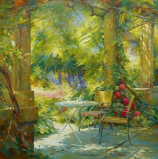 художник Йохан Мессели (Johan Messely) картины – 21