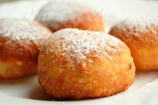 Пончики со сгущенкой рецепт с пошагово