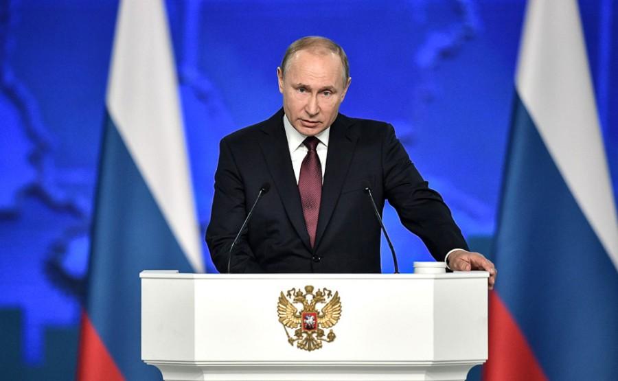 Путина поставили на первое м…