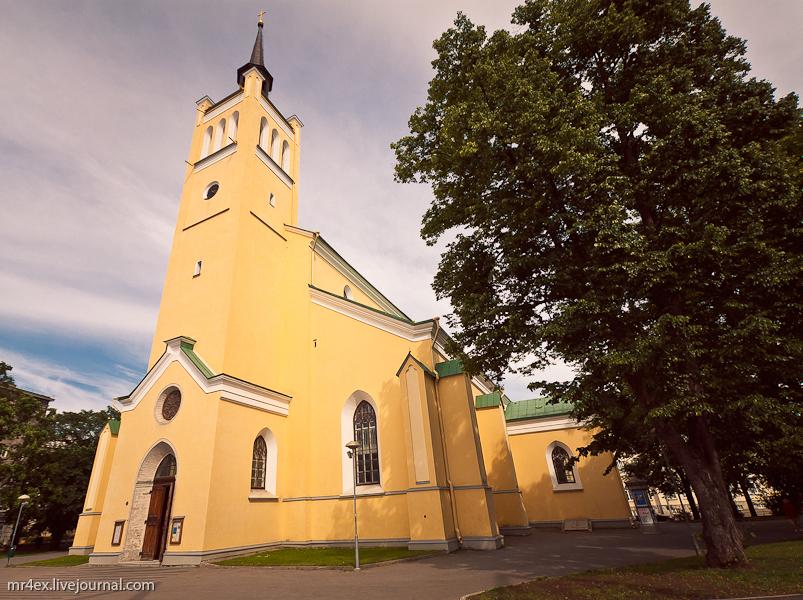 Таллин, Эстония, церковь Святого Иоанна