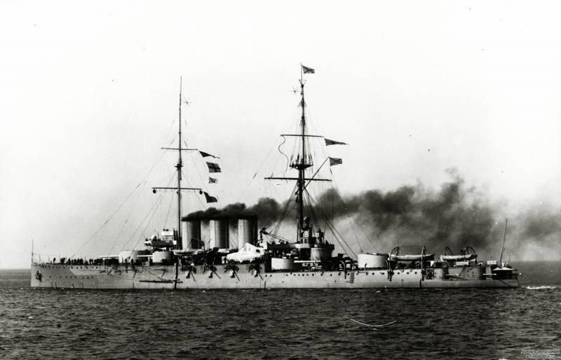 """Готландский бой 19 июня 1915 г. Часть 7. """"Рюрик"""" вступает в бой"""