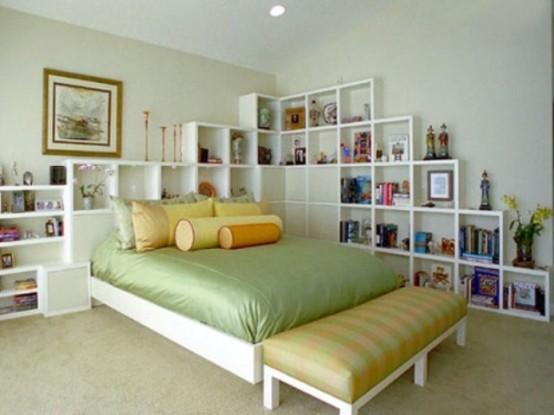 Как хранить вещи в спальне? 44 идеи