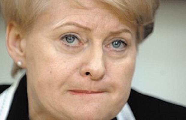 Прибалтийская пощечина Брюсселю: Грибаускайте рискует из-за России