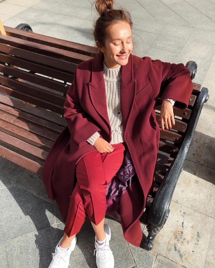 20 восхитительных фотообразов с модными пальто в стиле кэжуал на осень 2019