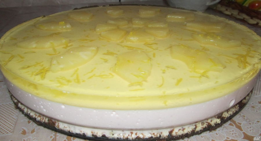 Торт с суфле пошаговый рецепт с