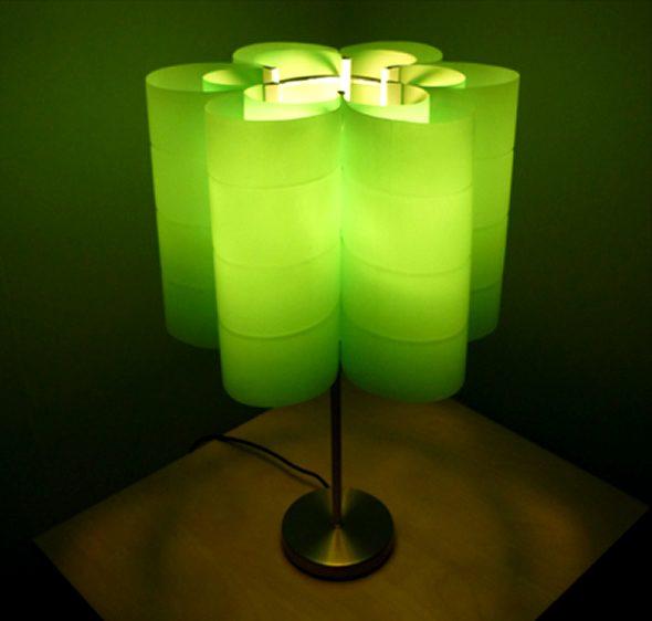 Оригинальные светильники из пластиковых бутылок