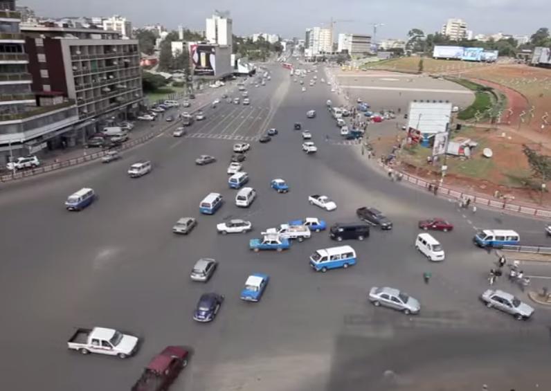Самые внимательные водители живут в Эфиопии (видео)