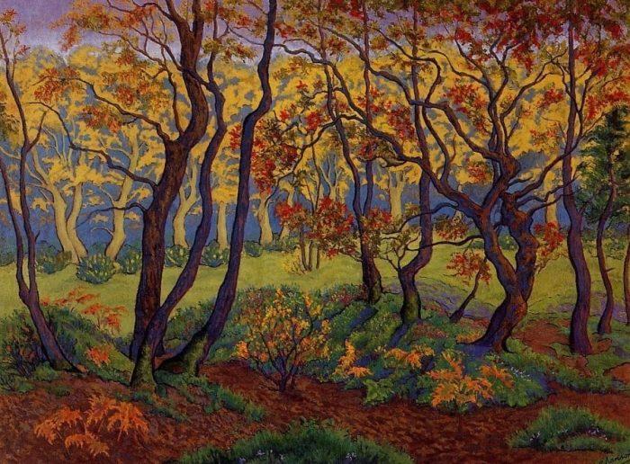 Кроме живописи Поль Рансон увлекался философией, мистикой и теософией...