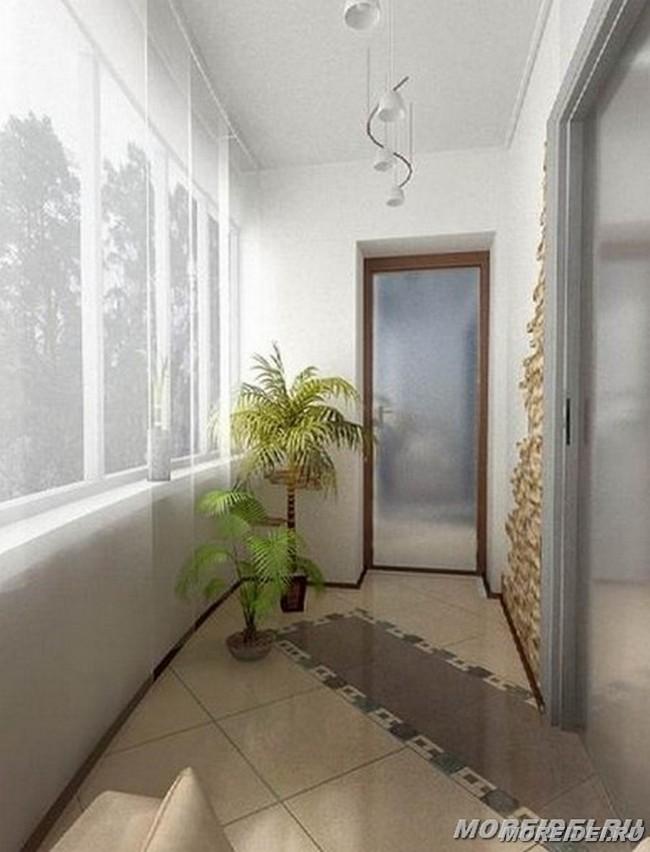 Внутренняя отделка балкона в нижнем новгороде, заказать, низ.