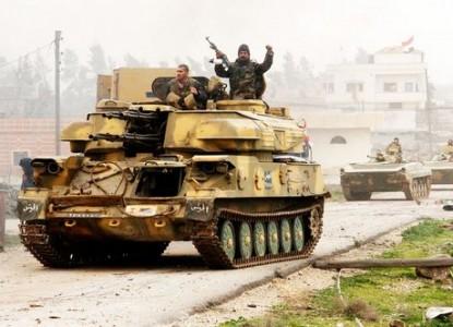 Боевики на грани полного окружения в Центральной Сирии