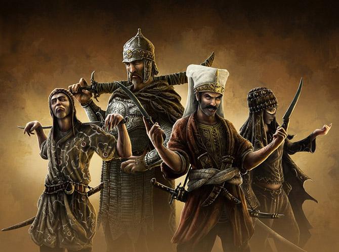 Пять воинов, которых больше нет