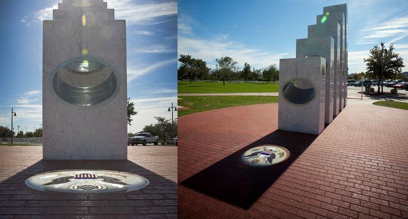 Уникальный памятник ветеранам, красота которого открывается раз в год — 11 ноября в 11:11 утра
