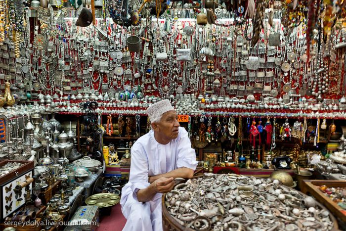 Рынок Матрах в Омане