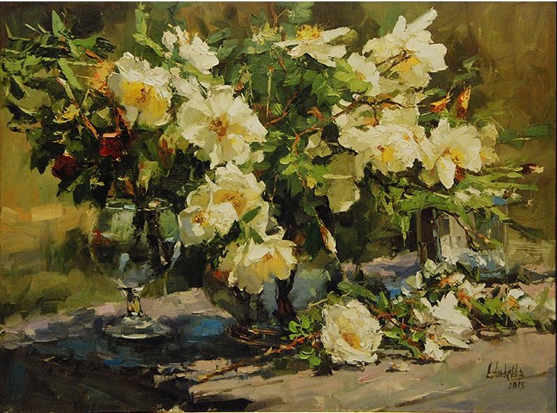 Торжество цветения на картинах Сергея Алексеева
