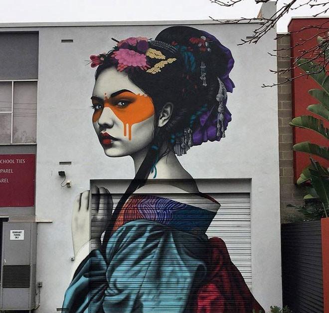 Fin Dac (США) в мире, граффити, интересное, искусство, подборка, стрит-арт, уличное искусство