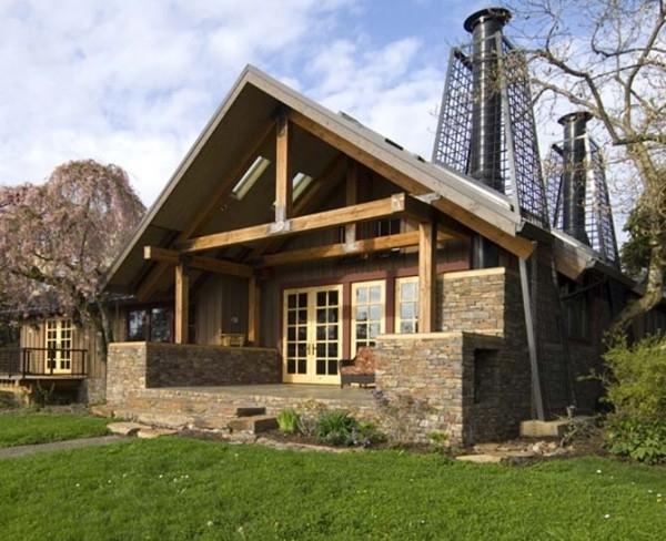 Деревянные дома. 55 архитектурных решений