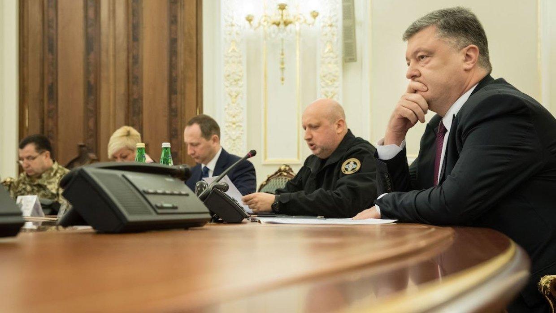 О вводе военного положения на Украине