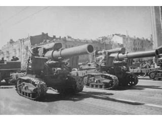 «Противотанковый скальпель»: как Красная Армия на войне применяла гаубицу Б-4