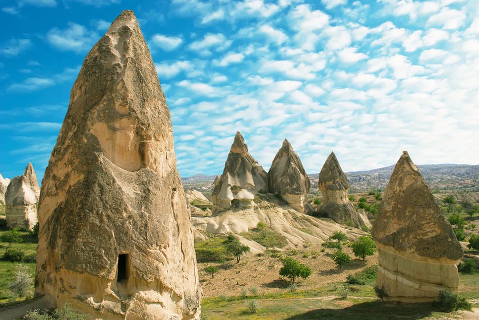 Каппадокия, Турция геология, история с географией, красота, скалы