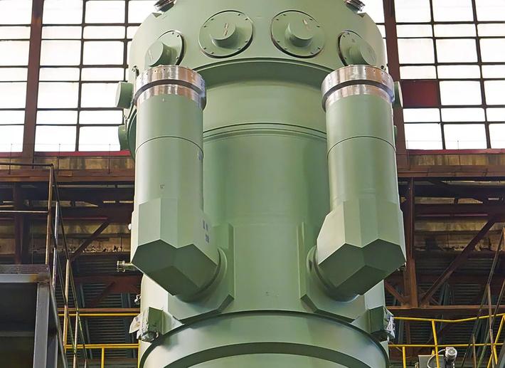 В ПАО «ЗиО-Подольск» собран корпус первого реактора РУ «РИТМ-200» для ледокола «Сибирь»
