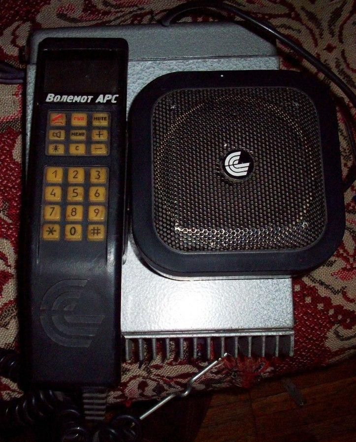 Мобильная связь, рожденная в СССР