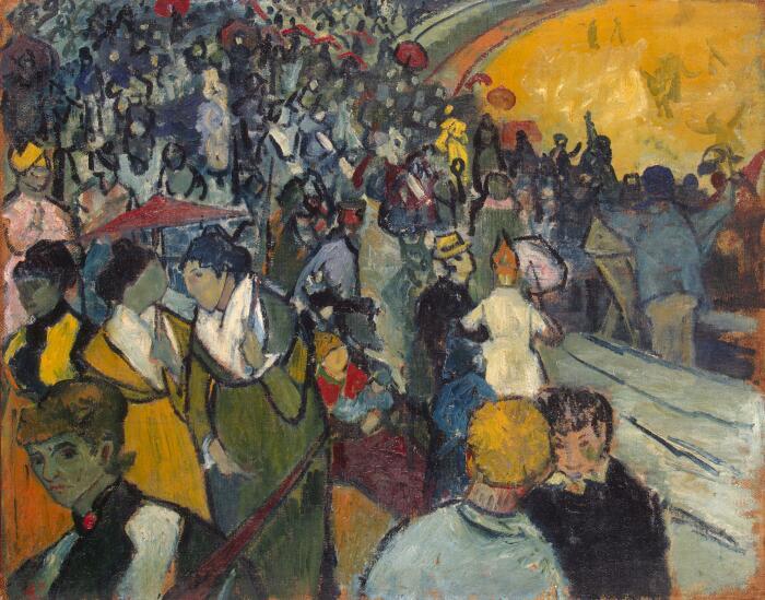 Арена в Арле Винсента Ван Гога, 1888 год.  Фото: hy.wikipedia.org.