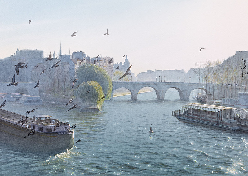 Thierry Duval. Париж