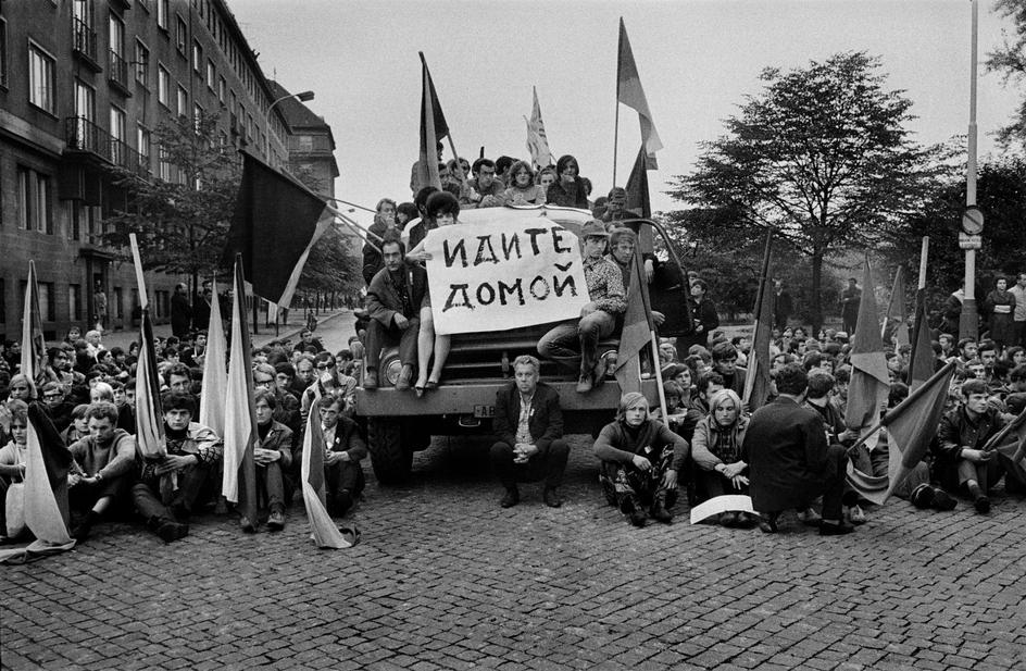 Относительно Чехословакии и событий 1968 года там происходивших.