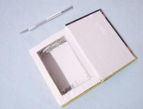 как сделать шкатулку из книги своими руками