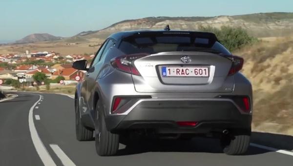 Toyota C-HR для России