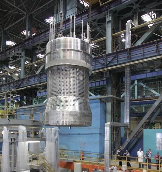 Ижорские заводы завершили изготовление блока защитных труб для энергоблока № 2 Ленинградской АЭС-2