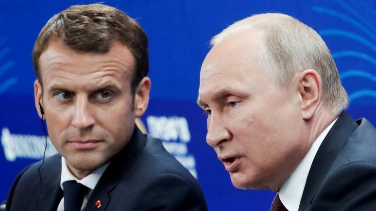 Parisien: лишь дипломатические приличия заставляют Путина называть Францию партнёром