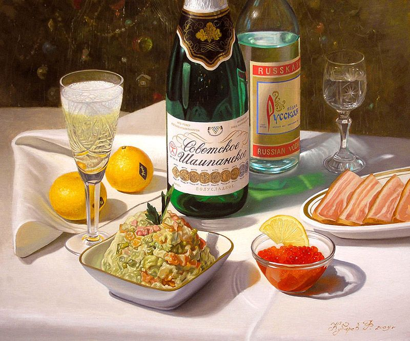 Как готовились к Новому году в СССР.