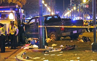 Въехавший в толпу водитель в Новом Орлеане был пьян