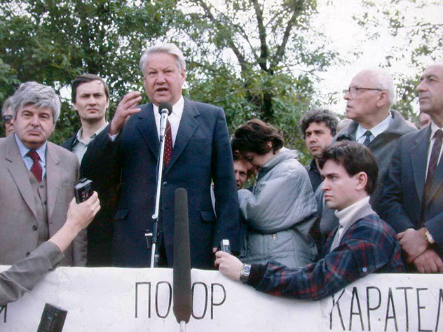 Гавриил Попов знал все сценарии путча задолго до августа 1991-го