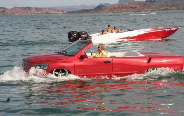 лодка которая взлетела