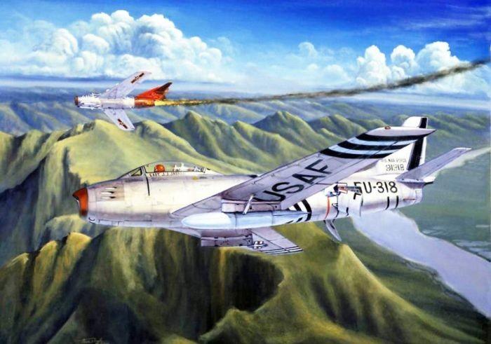 Как сотня американских летчиков в плен попали