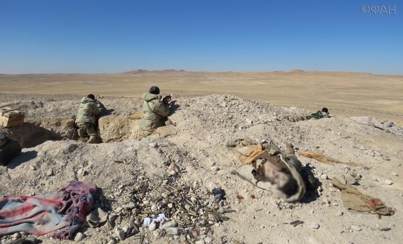 ФАН публикует видео, на котором сирийский спецназ занимает высоту 609 в районе трассы Тияс-Пальмира